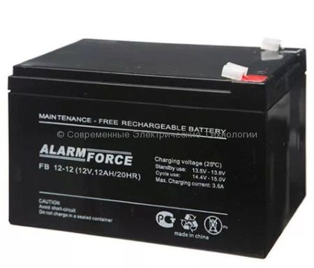 Аккумулятор Alarm Force FB 12В 12Ач (FB 12-12)