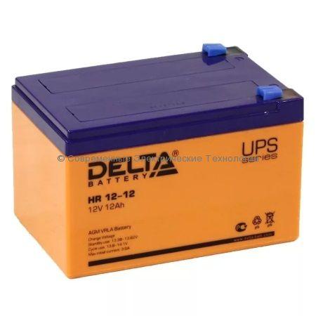 Аккумулятор DELTA 12В 12Ач (HR 12-12)