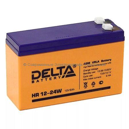 Аккумулятор DELTA 12В 6Ач (HR 12-24W)