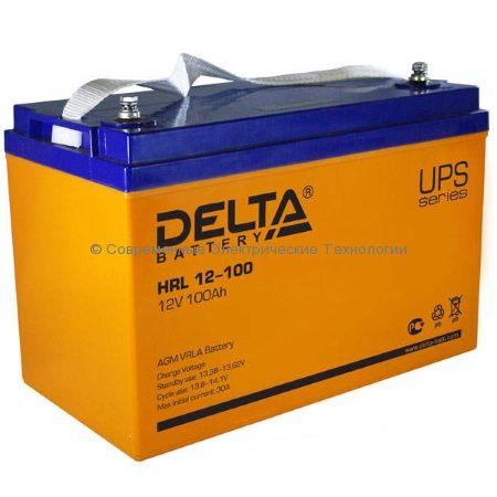 Аккумулятор DELTA 12В 140Ач (HRL 12-140)