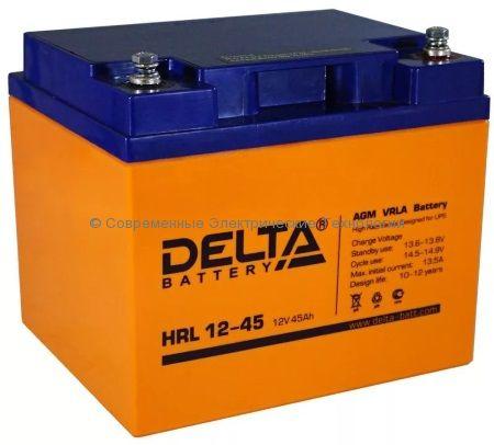 Аккумулятор DELTA 12В 45Ач (HRL 12-45)