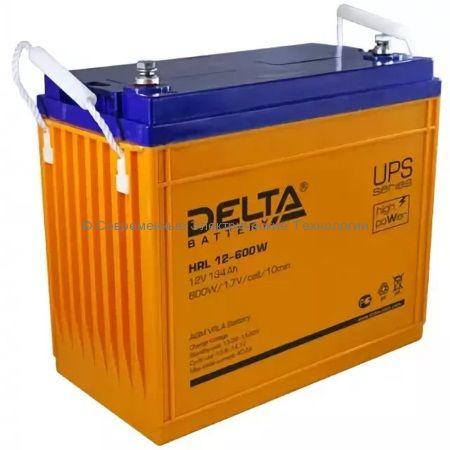 Аккумулятор DELTA 12В 140Ач (HRL 12-600W)