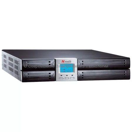 Источник бесперебойного питания N-Power Mega-Vision 1000 ERT (MEV1000ERT) 1000ВА/700Вт