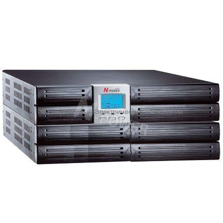 Источник бесперебойного питания N-Power Mega-Vision 3000 ERT (MEV3000ERT) 3000ВА/2100Вт
