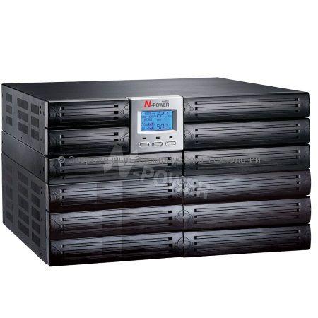 Источник бесперебойного питания N-Power Mega-Vision 10000 ERT (MEV10000ERT) 10000ВА/7000Вт