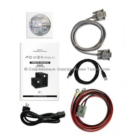 Источник бесперебойного питания Powerman Online 1000 plus 1000ВА/800Вт