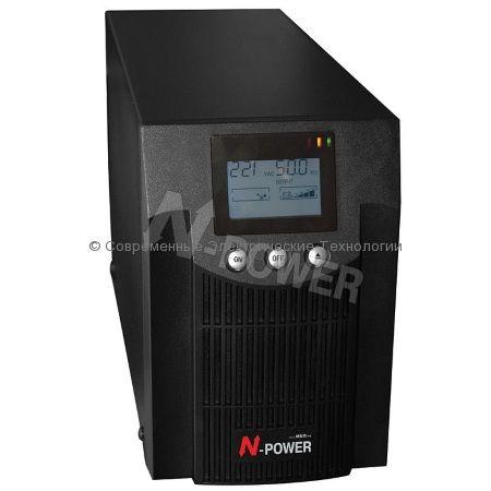 Источник бесперебойного питания N-Power Pro-Vision Black 1000 (PVB1000) 1000ВА/700Вт