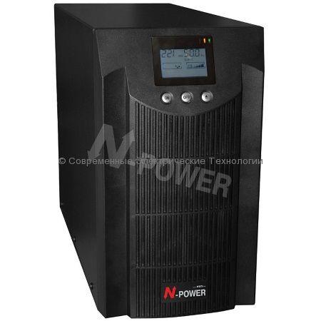 Источник бесперебойного питания N-Power Pro-Vision Black 2000 (PVB2000) 2000ВА/1400Вт