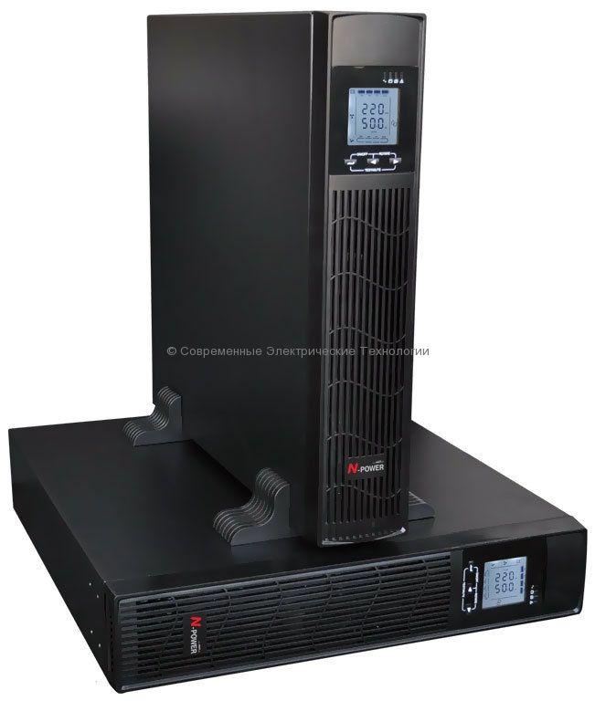 Источник бесперебойного питания 10000ВА/9000Вт N-Power (Pro-Vision Black M10000 RT)
