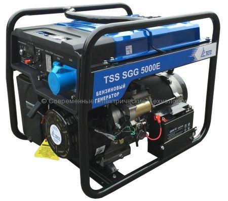 Бензиновый генератор ТСС 5кВА/5кВт (TSS SGG 5000 E)