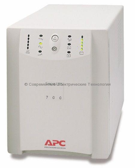 Источник бесперебойного питания APC Smart-UPS 700VA SU700INET