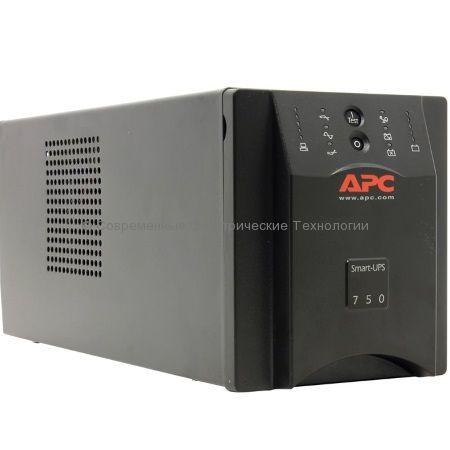 Источник бесперебойного питания APC Smart-UPS 750VA USB & Serial 230V SUA750I