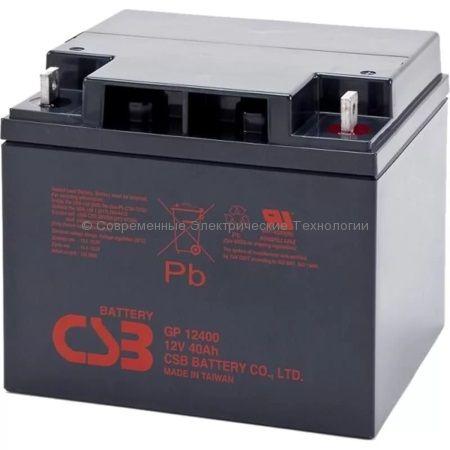 Аккумуляторная батарея 12В 40Ач (GP 12400 WBR)