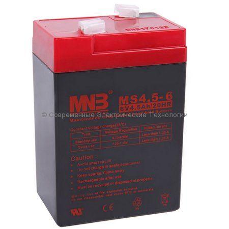 Аккумулятор MNB 6В 4.5Ач (MS4.5-6)
