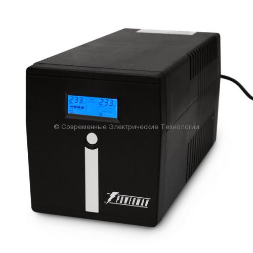 Источник бесперебойного питания Powerman Smart Sine 1500 (1500ВА/1050Вт)