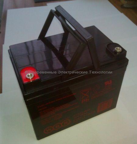 Аккумуляторная батарея тяговая 12В 36Ач (EVX12360S WBR)