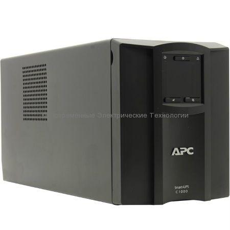 Источник бесперебойного питания APC Smart-UPS C 1000VA LCD 230V SMC1000I