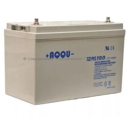 Аккумулятор AQQU 12В 100Ач 12ML100 E-LT