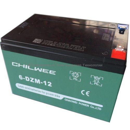 Тяговый гелевый аккумулятор 12В 14Ач (6-DZM-12)