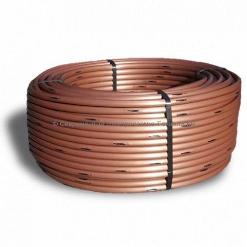 Капельный шланг подземного полива компенсированный д.16мм 33см 2.3л/час (100м)