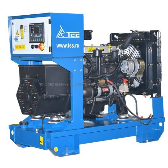 Дизельный генератор ТСС АД-10С-T400-1РМ11 Стандарт 10/12.5кВт 400В