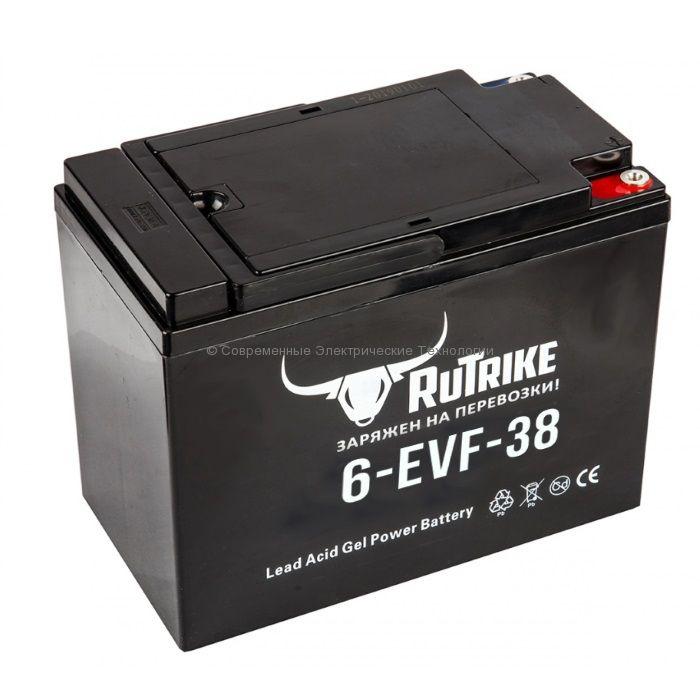 Тяговый гелевый аккумулятор 12В 38Ач (C3) 45Ач (C20) 6-EVF-38