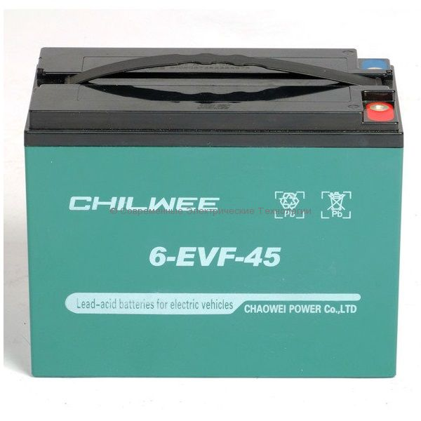 Тяговый гелевый аккумулятор 12В 47Ач (C5) (6-EVF-45)