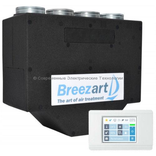 Приточно-вытяжная установка с энтальпийным рекуператором Breezart 450 Lux RE