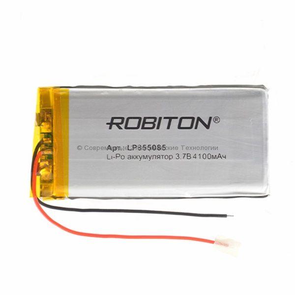 Li-Po аккумулятор LP855085 3.7В 4100мАч Robiton с защитной платой