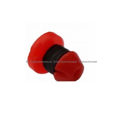 Компенсированная капельница-кнопка 4л/час красная PC1122-4