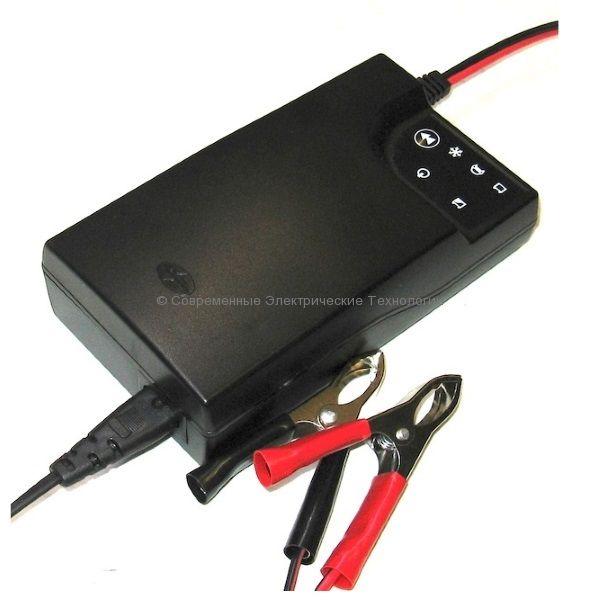 Универсальное зарядное устройство BL1204: 12В до 85Ач