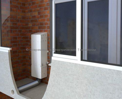 Приточная установка с электрическим подогревом Minibox.Home-200