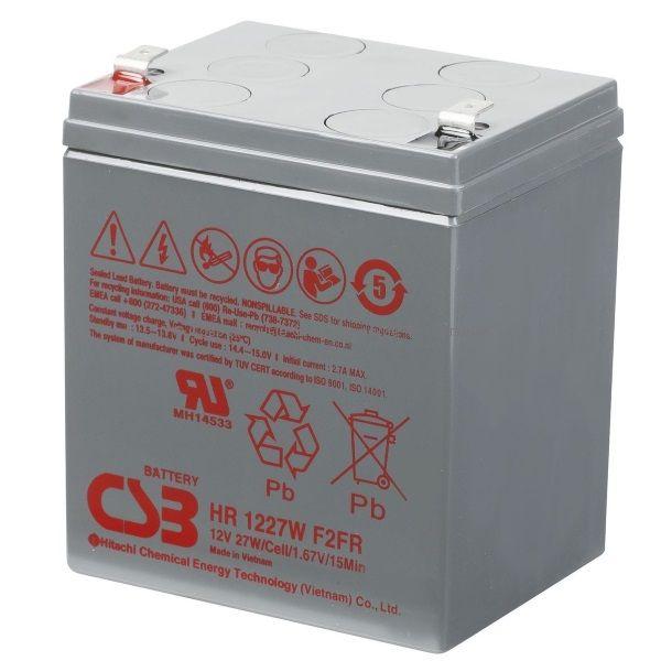 Аккумулятор CSB 12В 7Ач 27W (HR 1227W)