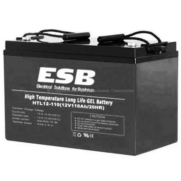 Тяговая гелевая аккумуляторная батарея 12В 88Ач (C5) HTL12-110