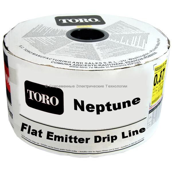 Капельная лента Neptun эмиттерная 18mil, 16мм, шаг 30см, вылив 1.3л/час (950м)
