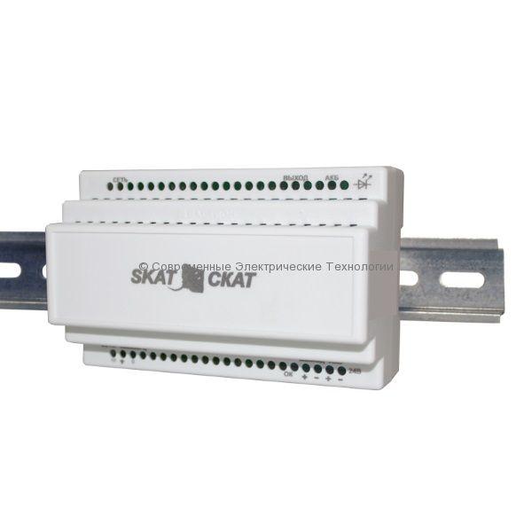 Источник бесперебойного питания 12В 3А на DIN (SKAT-12-3.0-DIN)