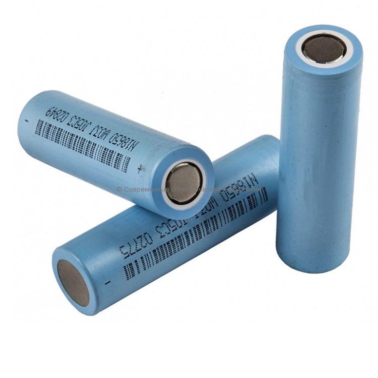 Аккумулятор Li-Ion NCM18650 3.7В 2600мАч DLG