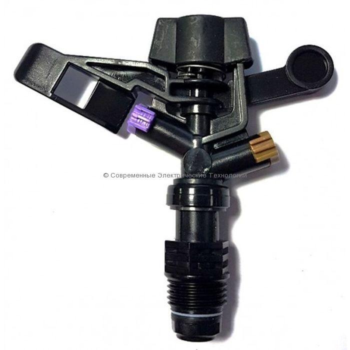 """Спринклер импульсный Н1/2"""" 360 градусов фиолетовый (RS5022-2)"""