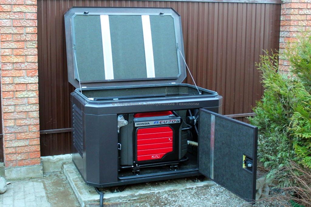 Мини-контейнер для генератора до 8кВт с вентилятором