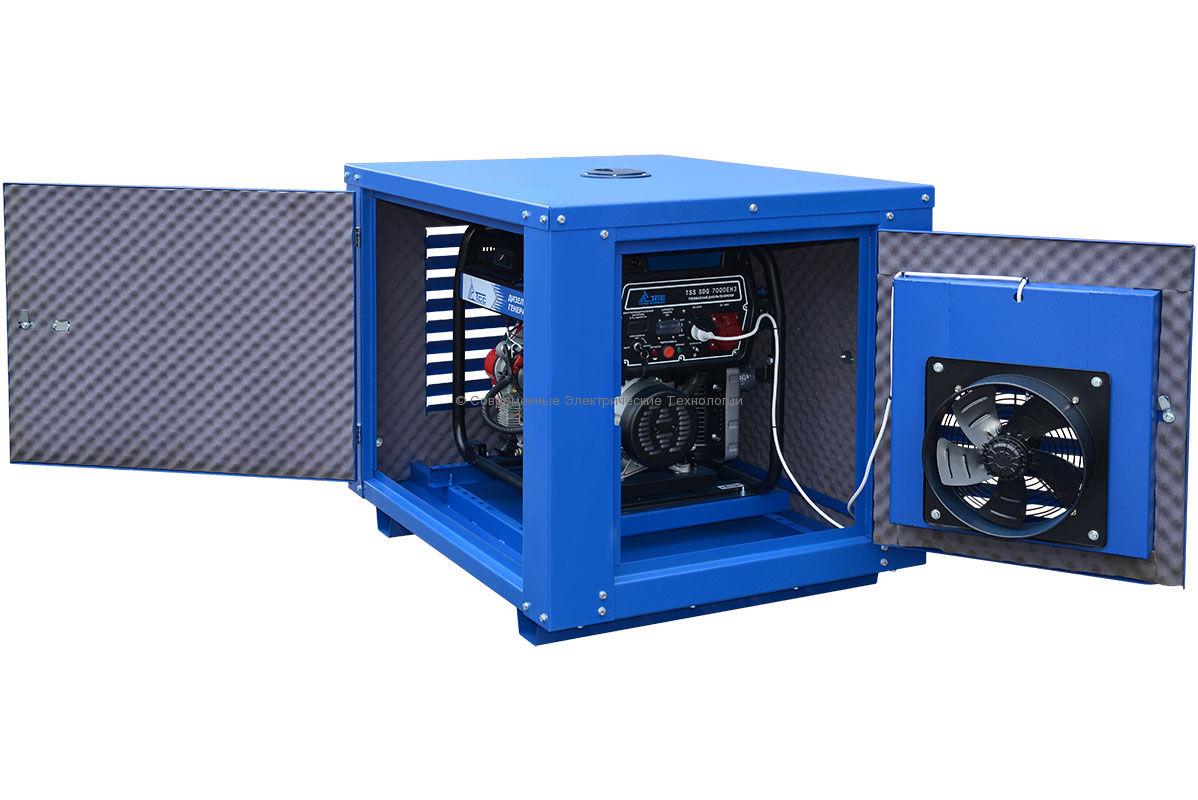 Погодозащитный кожух для генератора MK-1.1 с двумя дверями