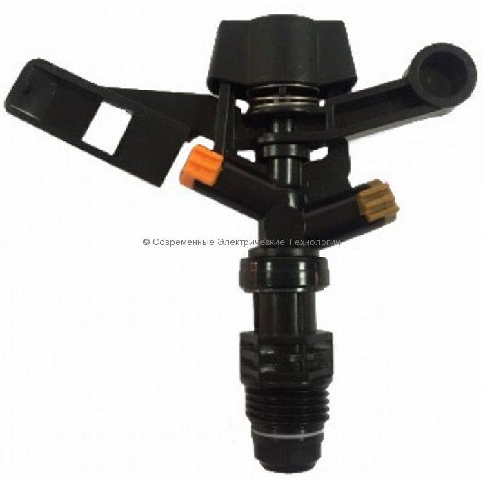 """Спринклер импульсный Н1/2"""" 360 градусов оранжевый (RS5022-3)"""