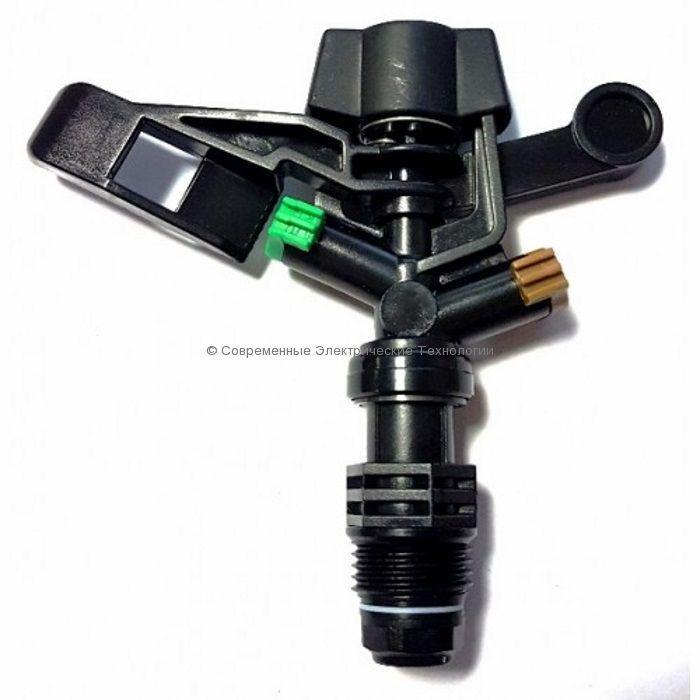 """Спринклер импульсный Н1/2"""" 360 градусов зелёный (RS5022-5)"""
