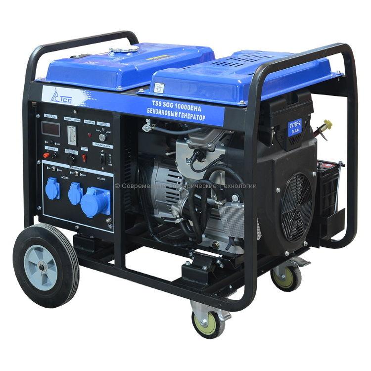 Бензиновый генератор ТСС 10кВт (TSS SGG 10000 EHA)