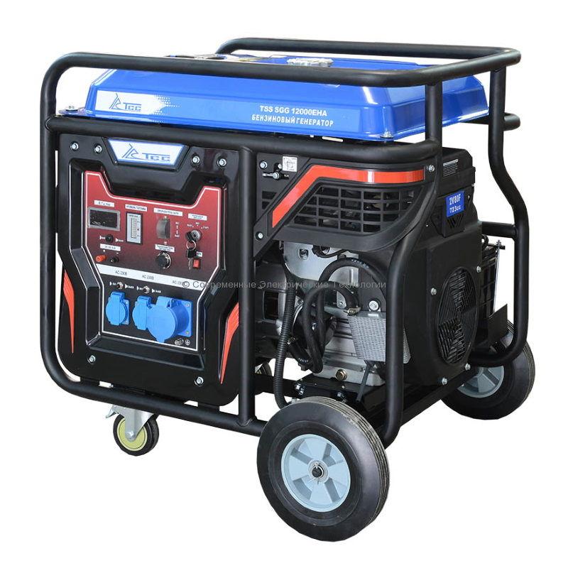 Бензиновый генератор ТСС 12кВт (TSS SGG 12000 EHA)