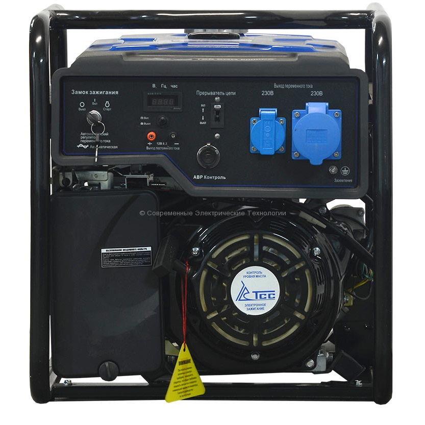 Бензиновый генератор ТСС 7кВА/7кВт (TSS SGG 7000 EA)