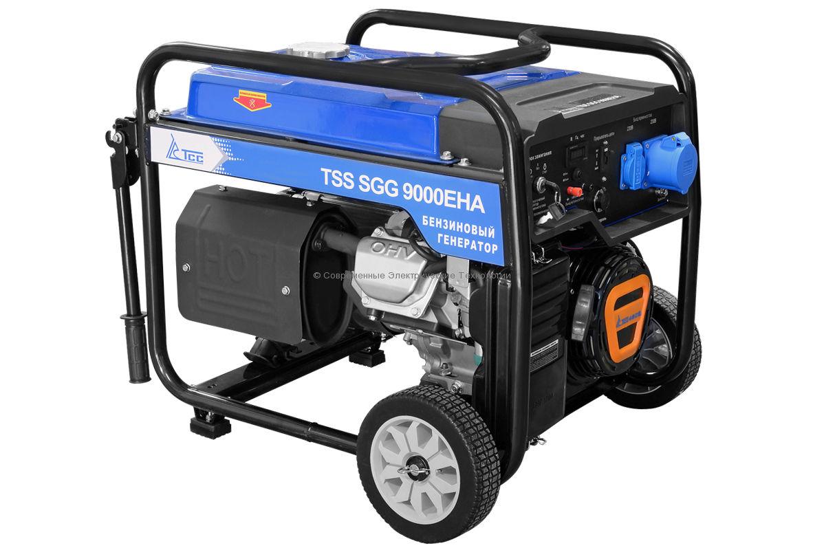 Бензиновый генератор ТСС 8.5кВт (TSS SGG 9000 EHA)