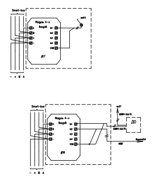 Проект умного дома: ввод в систему умный дом сигналов от разных датчиков
