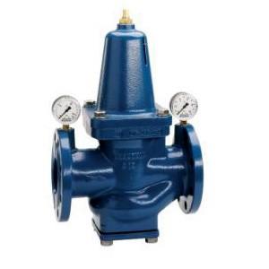 Поршневой редуктор давления воды для промышленных объектов водоснабжения