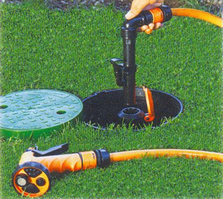 Пример использования водяной розетки