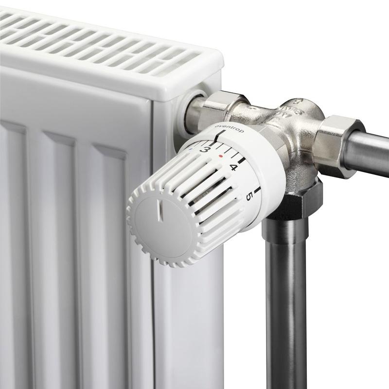 Механический регулятор температуры на радиаторе отопления